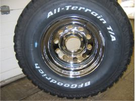 Диск Off-Road Wheels 8.0х15/6х139.7